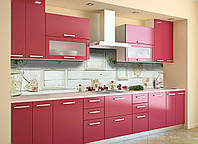 Скинали на кухню Zatarga «Лофт» 650х2500 мм виниловая 3Д наклейка кухонный фартук самоклеящаяся