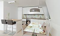 Наклейка 3Д виниловая на стол Zatarga «Лофт» 600х1200 мм для домов, квартир, столов, кофейн, кафе