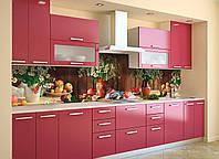 Скинали на кухню Zatarga «Полевые Ромашки» 600х3000 мм виниловая 3Д наклейка кухонный фартук самоклеящаяся, фото 1