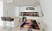 Наклейка 3Д виниловая на стол Zatarga «Радужный Лес» 600х1200 мм для домов, квартир, столов, кофейн,, фото 1