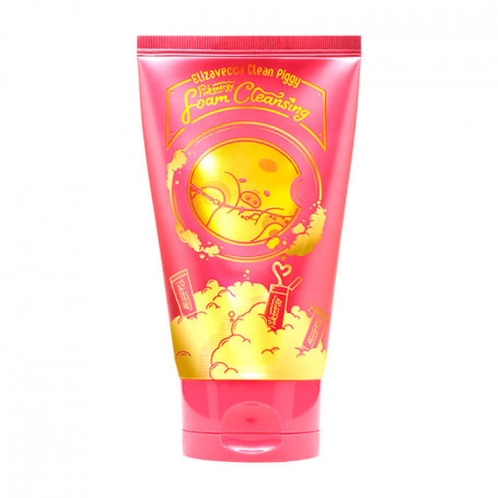 Пенка для умывания Elizavecca Clean Piggy Pink Energy Foam Cleansing, 120ml