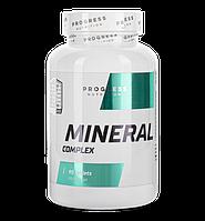 Витамины и минералы Progress Nutrition Mineral Complex 90tabs.