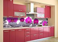 Скинали на кухню Zatarga «Пирамида из Камней» 600х2500 мм виниловая 3Д наклейка кухонный фартук самоклеящаяся, фото 1