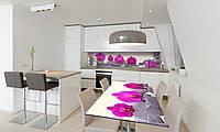Наклейка 3Д виниловая на стол Zatarga «Пирамида из Камней» 650х1200 мм для домов, квартир, столов, , фото 1