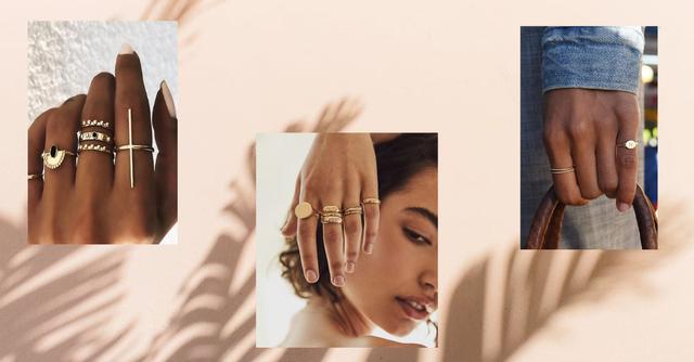 Как правильно носить кольца женщинам — фото №1