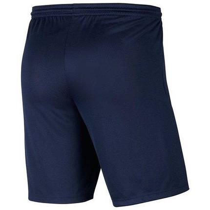 Шорты футбольные Nike Dri-FIT Park III Knit BV6855-410 Темно-синий, фото 2