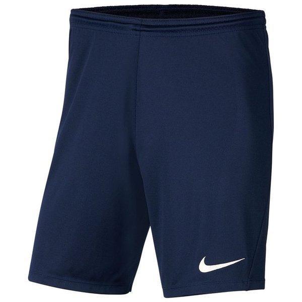 Шорты футбольные Nike Dri-FIT Park III Knit BV6855-410 Темно-синий