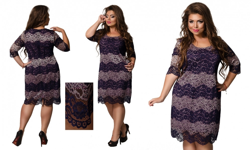 Платье №0234 (фреза) размеры 52, 56