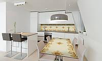 Наклейка 3Д виниловая на стол Zatarga «Турецкий шарм» 600х1200 мм для домов, квартир, столов, кофейн,, фото 1