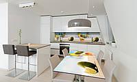 Наклейка 3Д виниловая на стол Zatarga «Коктейль» 600х1200 мм для домов, квартир, столов, кофейн, кафе, фото 1