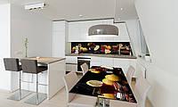 Наклейка 3Д виниловая на стол Zatarga «Чай со Специями» 650х1200 мм для домов, квартир, столов, кофейн,, фото 1
