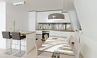 Наклейка 3Д виниловая на стол Zatarga «Античный зал» 650х1200 мм для домов, квартир, столов, кофейн,, фото 1