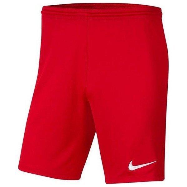 Шорты футбольные Nike Dri-FIT Park III Knit BV6855-657 Красный