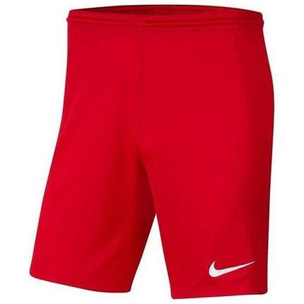 Шорты футбольные Nike Dri-FIT Park III Knit BV6855-657 Красный, фото 2