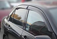 Дефлекторы окон Mitsubishi Lancer Sd 2003-2006   Ветровики Мицубиси Лансер