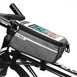 Нарамна велосумка під смартфон B-Soul 21*9*10,5 см, фото 3