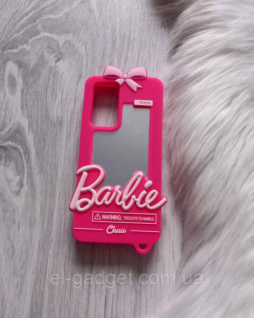 Чехол для Huawei P40 pro Барби Barbie розовый