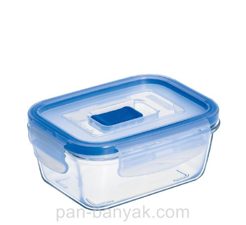 Контейнер для еды Luminarc Pure Box прямоугольный 820мл ударопрочное стекло (3547P/7680H)