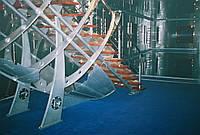 Ограждение для лестницы в современном стиле. Изготовление из чугуна, латуни, бронзы и другого металла