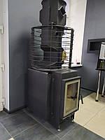 Распродажа выставочная модель.Банная печь ВР425 37х50 +Teplomodul