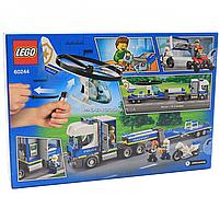 Конструктор LEGO City Police (Лего) Полицейский вертолётный транспорт, 317 деталей (60244), фото 2