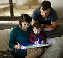 Рисуй светом A3 - Большой планшет для рисования в темноте / доска для рисования светом для детей, фото 3