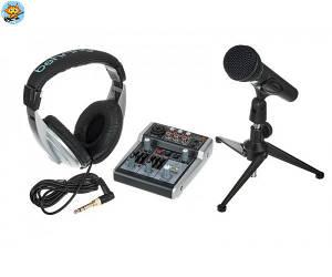 Комплект для студийной записи Behringer Podcastudio 2 USB