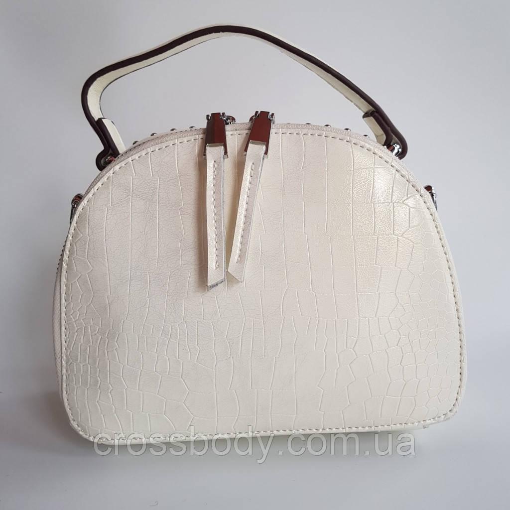Женская сумка кросс-боди зеленая