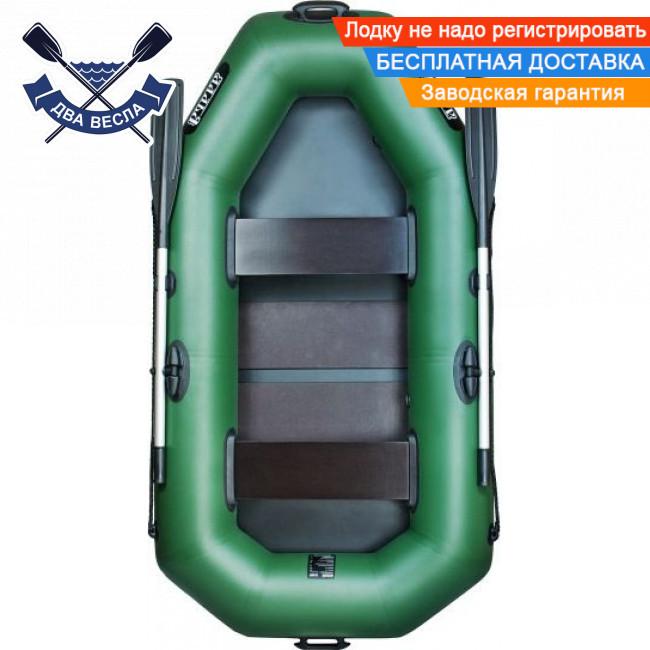 Надувная лодка Ладья ЛТ-240А-С со слань-ковриком двухместная