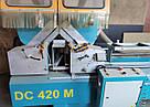 Yilmaz DC420M пила двухголовочная б/у для алюминиевых и ПВХ-профилей, фото 6