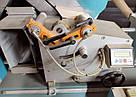 Yilmaz DC420M пила двухголовочная б/у для алюминиевых и ПВХ-профилей, фото 9