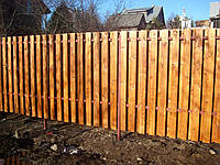 Дерев'яний паркан, фото 1