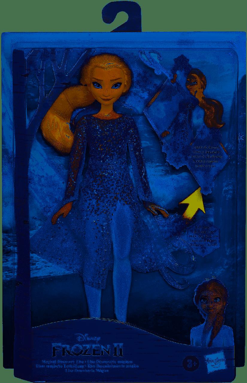 Кукла Эльза 28 см Холодное Сердце со звуком и световым эффектом Frozen Elsa Hasbro E8569