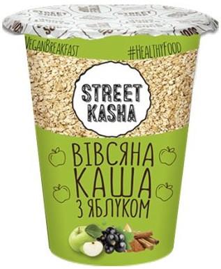 Овсяная каша Street Kasha - С яблоком (50 грамм)