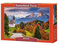 """Пазл 2000 эл. """"Castorland"""" (Польша) / Осень в Альпах, Германия"""