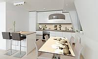 Наклейка 3Д виниловая на стол Zatarga «Пирамида Камни» 650х1200 мм для домов, квартир, столов, кофейн,, фото 1