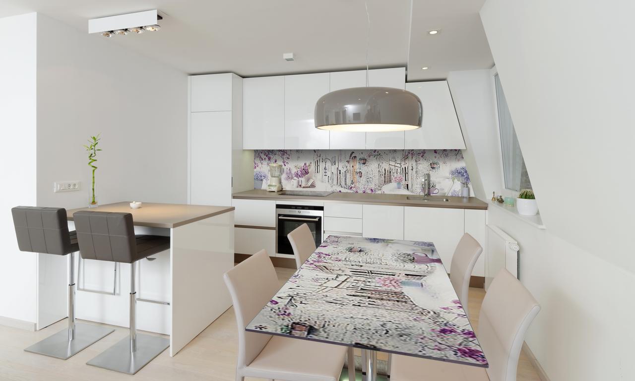 Наклейка 3Д виниловая на стол Zatarga «Весенний Прованс» 600х1200 мм для домов, квартир, столов,