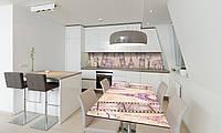 Наклейка 3Д виниловая на стол Zatarga «Романтическая Европа» 650х1200 мм для домов, квартир, столов, , фото 1