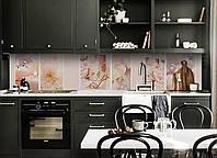 Скинали на кухню Zatarga «Золушка» 600х3000 мм виниловая 3Д наклейка кухонный фартук самоклеящаяся, фото 1