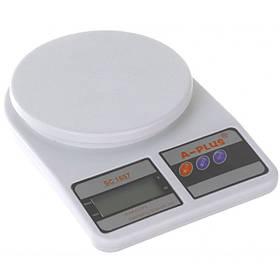 Весы кухонные до 5 кг A-PLUS 1657-AP