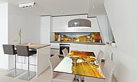 Наклейка 3Д виниловая на стол Zatarga «Винный Край» 600х1200 мм для домов, квартир, столов, кофейн,, фото 1