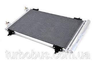 Радиатор охлаждения 133041 CITROEN XSARA, BERLINGO 96-, PEUGEOT PARTNER 1.8/1.9 D 11/98- (bez klim)
