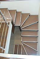 Лестницы из нержавейки, для дома, офиса, квартиры. Изготовление лестничных ступеней из нержавейки