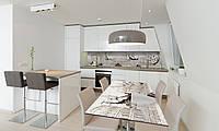 Наклейка 3Д виниловая на стол Zatarga «Итальянский кофе» 650х1200 мм для домов, квартир, столов, , фото 1