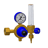 Редуктор кислородный БКО-50-4-2ДМ (с ротаметром), фото 2