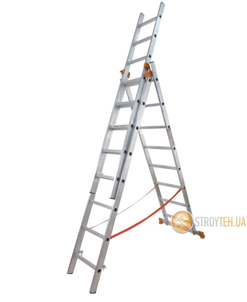 Лестница универсальная 3х10 Budfix 01410 в Кременчуге
