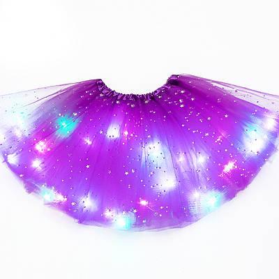 Светодиодная детская юбка-пачка 184094
