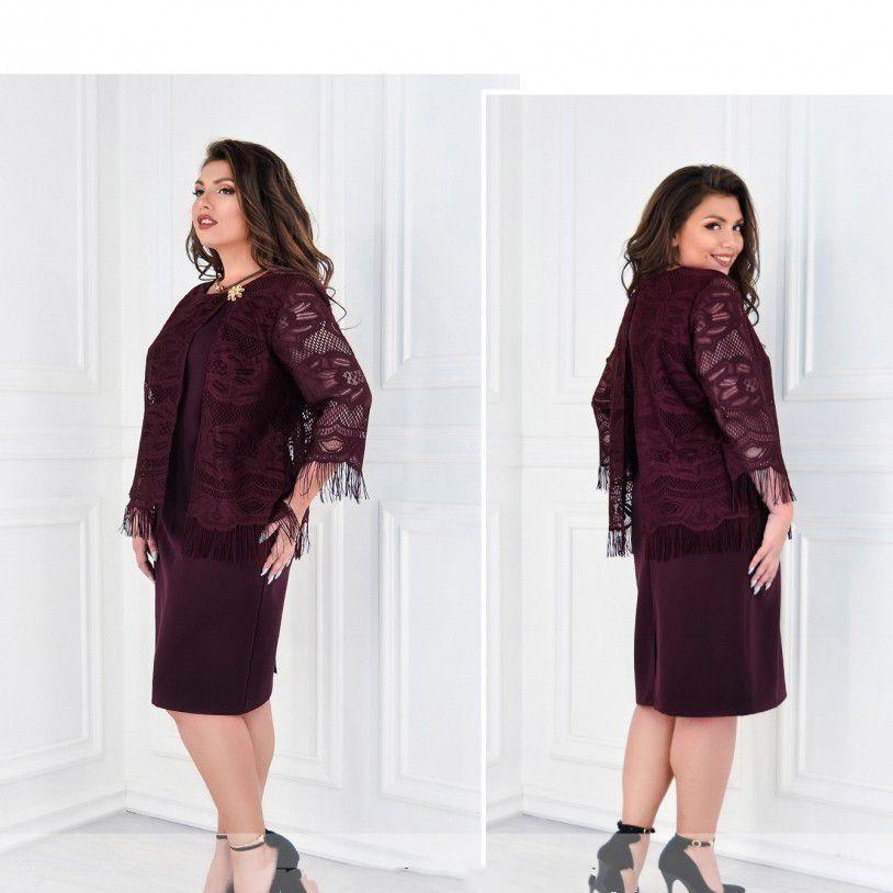 Сукня №375-бордо