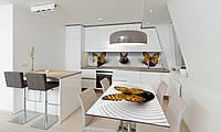 Наклейка 3Д виниловая на стол Zatarga «Тигровые Бабочки» 650х1200 мм для домов, квартир, столов, , фото 1