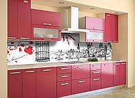 Скинали на кухню Zatarga «Англия» 600х2500 мм виниловая 3Д наклейка кухонный фартук самоклеящаяся, фото 1